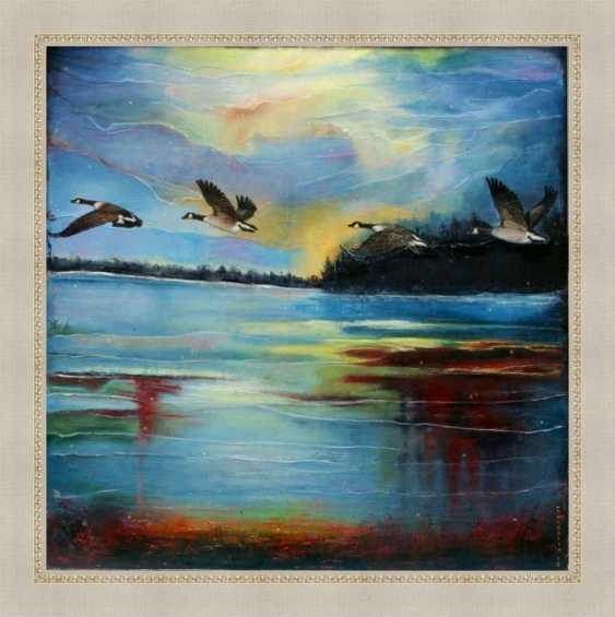 Nataliia Bahatska. And the Ducks are already Flying Far... - photo 6