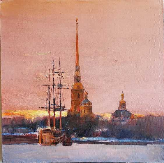 Dmitry Ermolov. Sunset over the Neva - photo 1