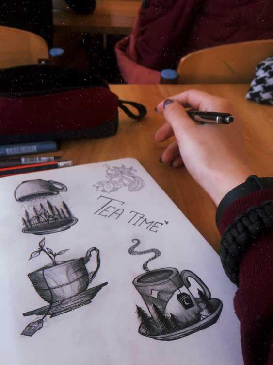 Vika Markevych. Tattoo eskis - photo 1
