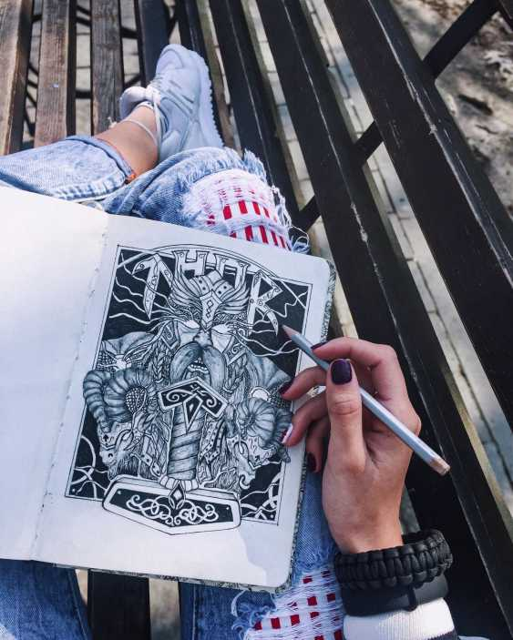 Vika Markevych. Tattoo eskis - photo 6