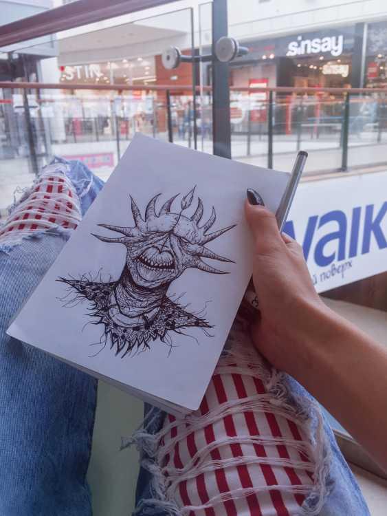 Vika Markevych. Tattoo eskis - photo 7