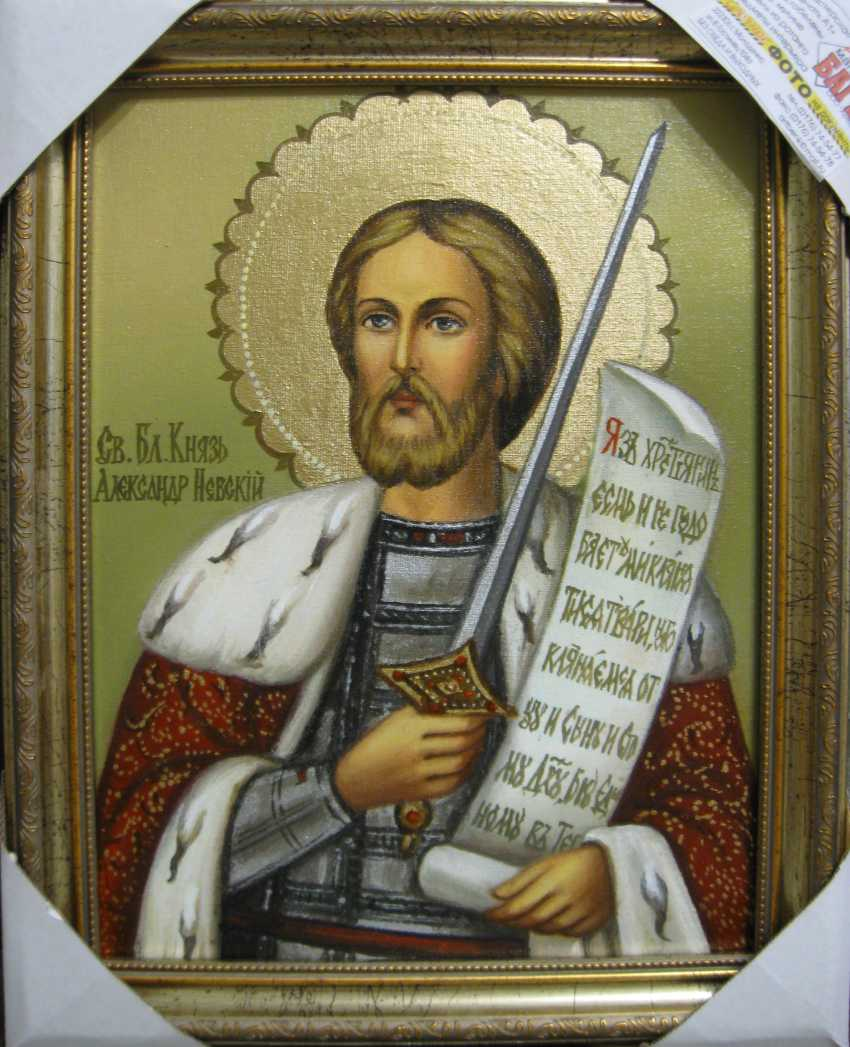 Yadviga Senko. Saint Alexander Nevsky - photo 1