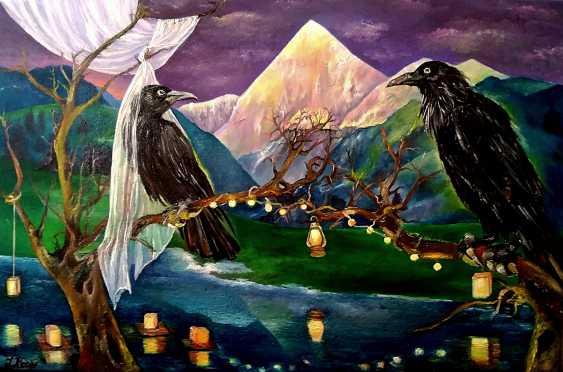 Iryna Atamanenko. Carrion Crows Wedding - photo 1