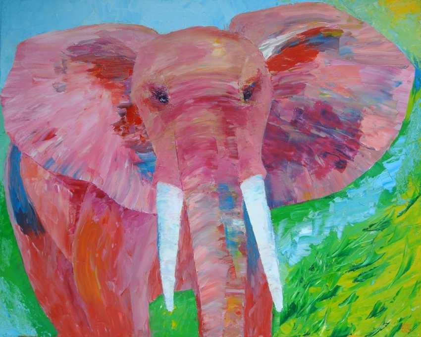 "Galina Jakovleva. ""Pink Elephant"" - photo 1"