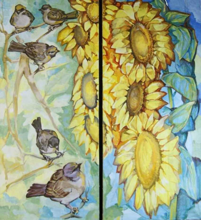 """Sergei Zorov. """"Sunflowers"""" - photo 1"""