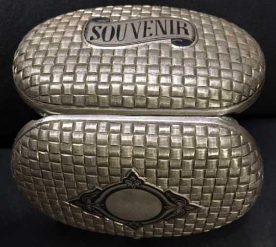 "Snuff""souvenir""of the 19th century; - photo 1"