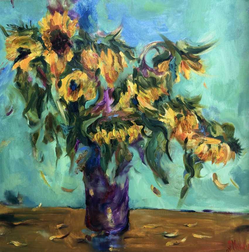 "Svetlana Malakhova. ""The magic of sunflowers"" - photo 1"