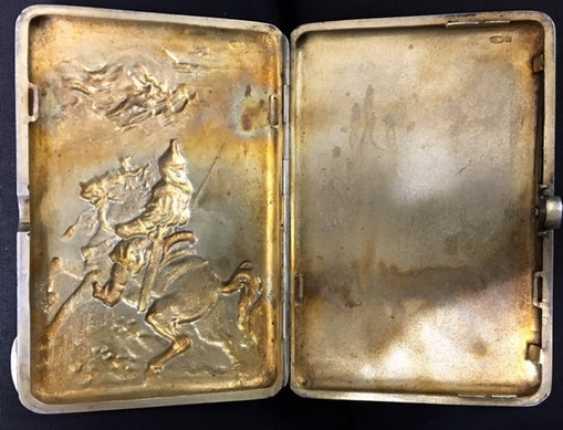 Cigarette case Russia, 19th century - photo 2