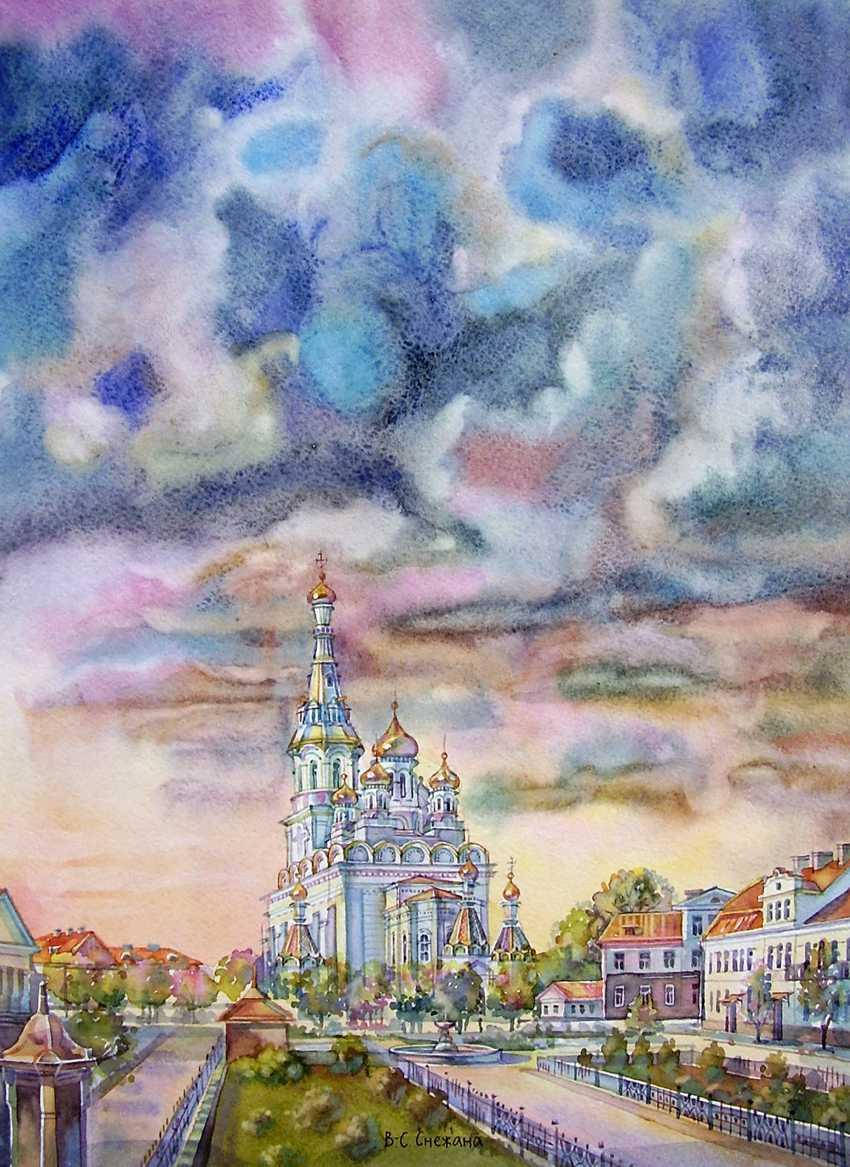 Vitsetskaya Sniazhana. Saint-Sophia Cathedral - photo 1