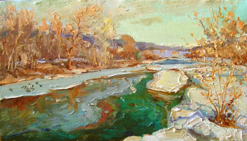 Andrey Mishagin. River wakes up - photo 1