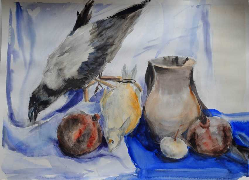 Tetiana Klymenko. still life with crow - photo 1