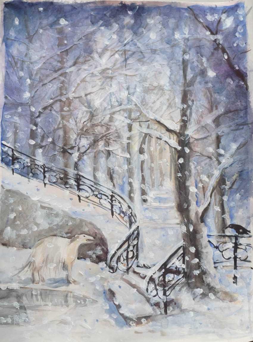 Tetiana Klymenko. winter tale about the dog - photo 1