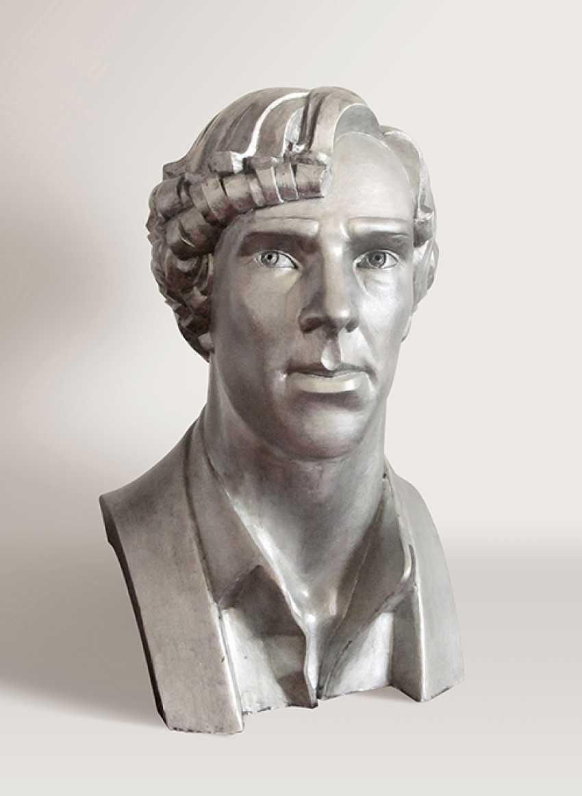 Maryna Lysiana. Portrait of actor Benedict Cumberbatch - photo 1