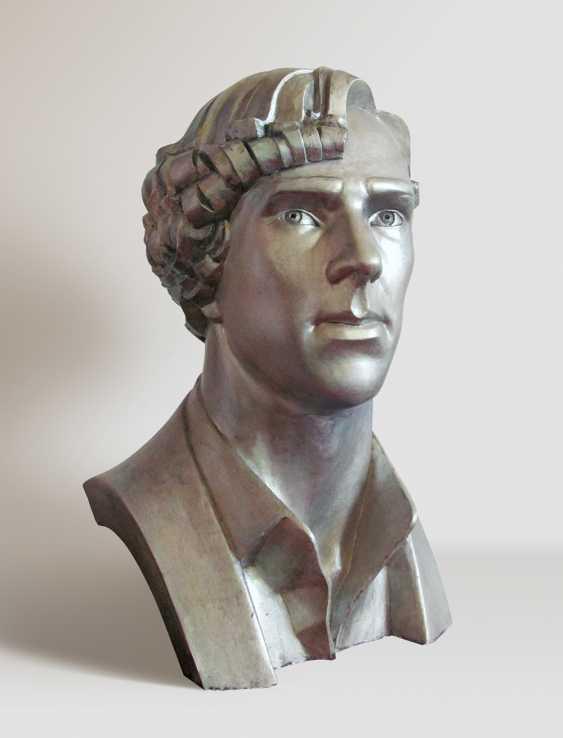 Maryna Lysiana. Portrait of actor Benedict Cumberbatch - photo 2