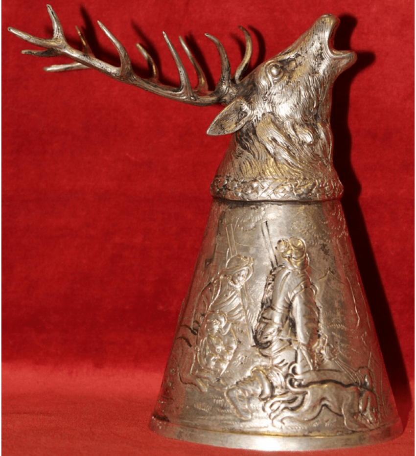 Cup Silver Germany, late XIX - photo 1