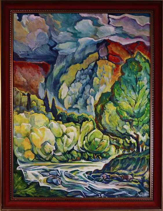 """Sergei Zorov. """"Rain in the mountains"""" - photo 1"""