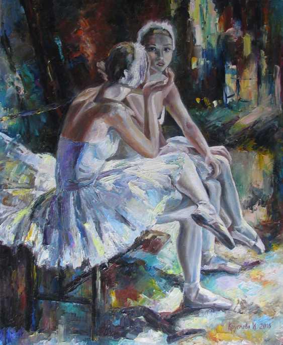 Irina Kruglova. Ballerina before the premiere - photo 1