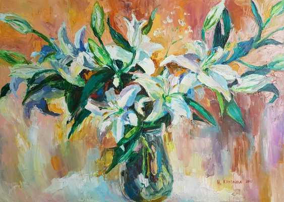 Irina Kruglova. White lilies - photo 1