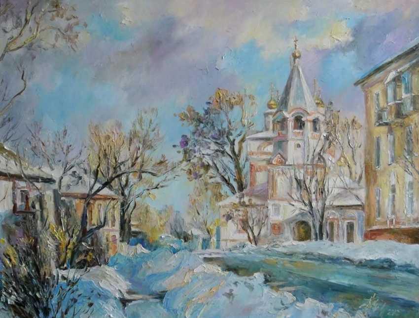 Irina Kruglova. Church of the Epiphany. Solikamsk - photo 1