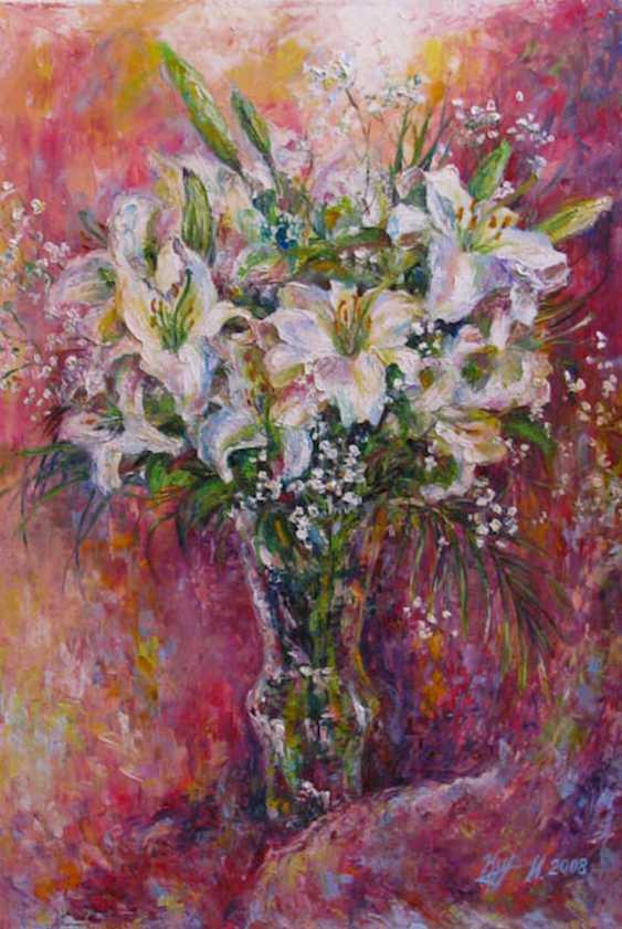 Irina Kruglova. A bouquet of lilies - photo 1