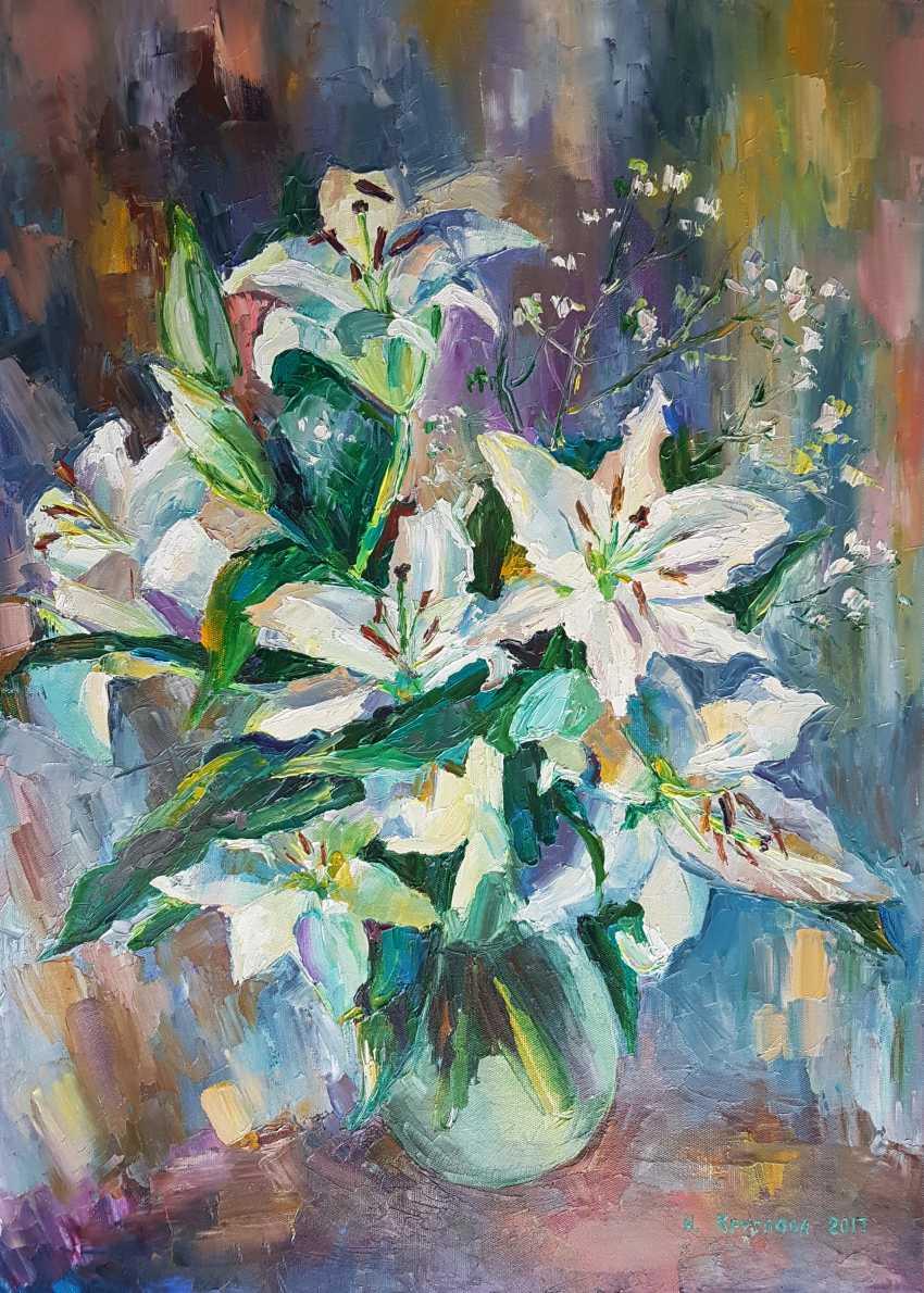 Irina Kruglova. Bouquet with lilies - photo 1