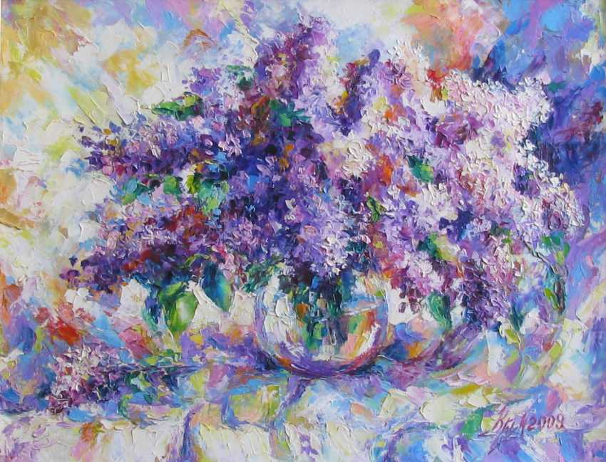 Irina Kruglova. A bouquet of lilacs - photo 1