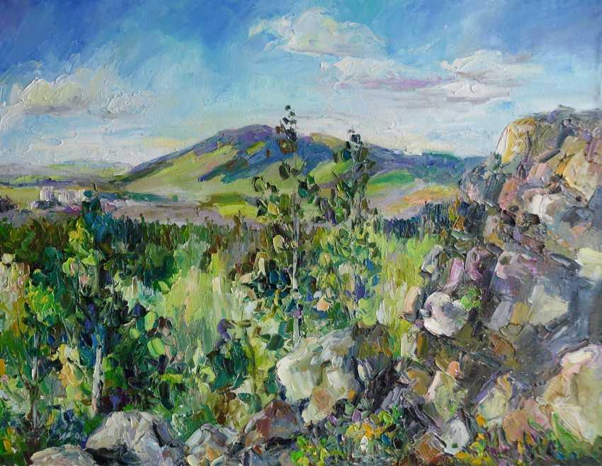 Irina Kruglova. The mountain the mountain Kachkanar Zhukov stone - photo 1