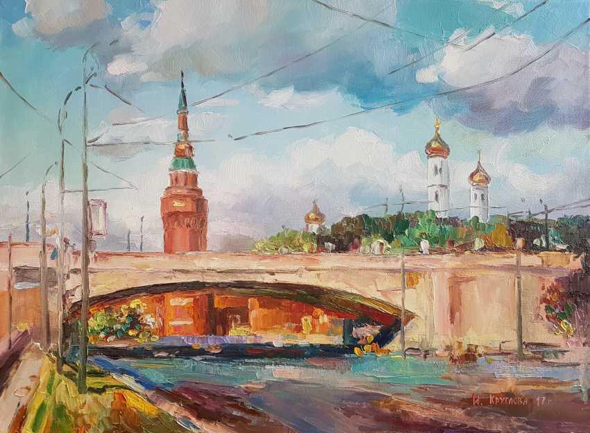 Irina Kruglova. View of the Kremlin - photo 1