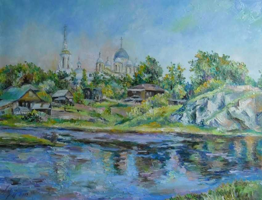 Irina Kruglova. View of the Transfiguration Church, Verkhoturye - photo 1
