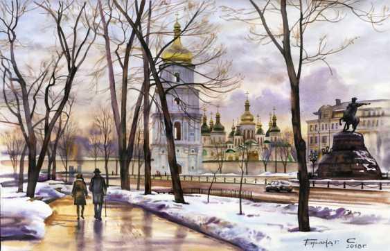 Sergey Brandt. St. Sophia square. February. - photo 1