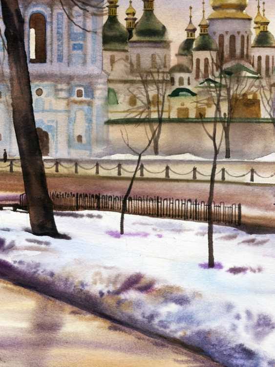 Sergey Brandt. St. Sophia square. February. - photo 2
