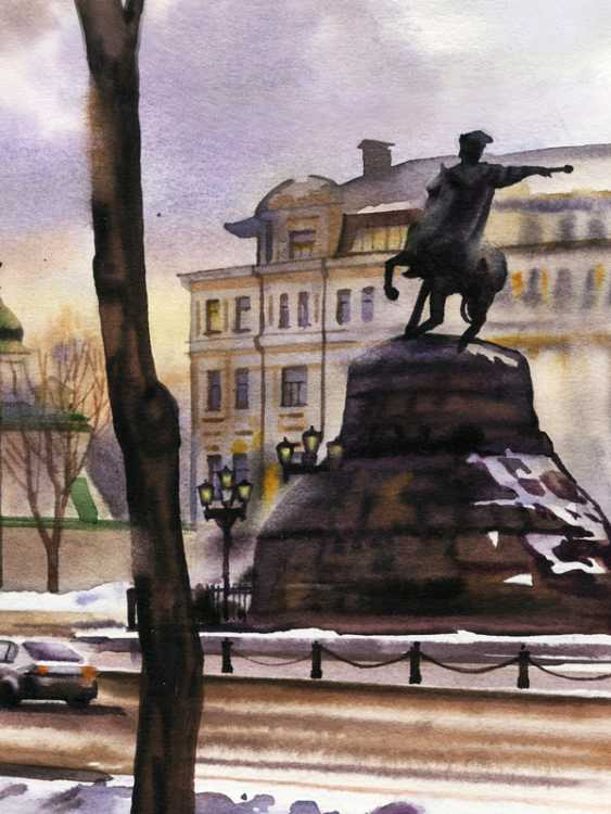 Sergey Brandt. St. Sophia square. February. - photo 3
