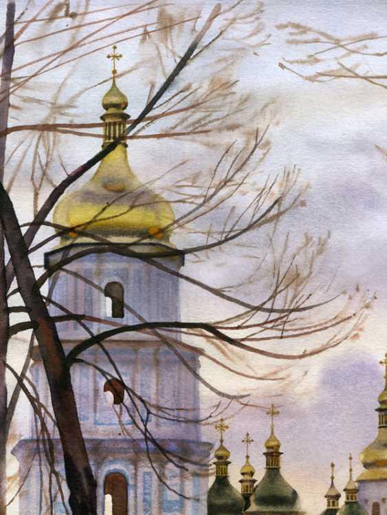 Sergey Brandt. St. Sophia square. February. - photo 4