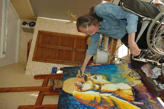 "Petr Annenkov. ""THE GUARDIAN ANGEL"" - photo 2"