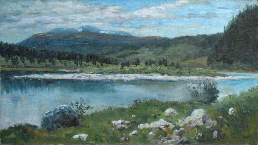 Alexander Bezrodnykh. Wolkig - Foto 1