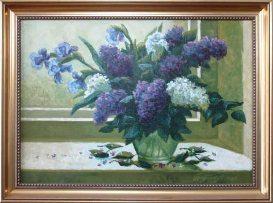 Alexander Bezrodnykh. Lilacs on the window - photo 2