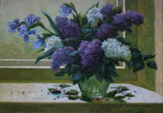 Alexander Bezrodnykh. Lilacs on the window - photo 1