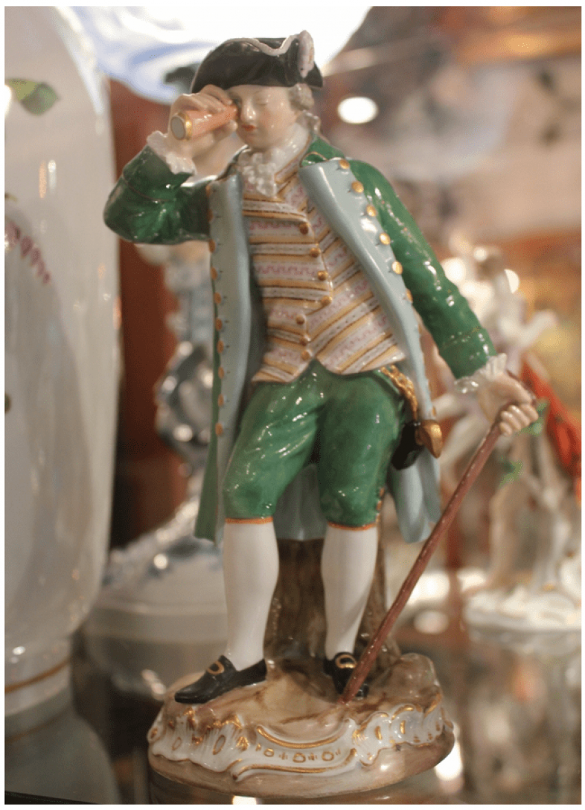 "Figurine ""Columbus"" Meissen - photo 1"