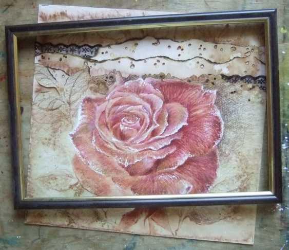 Natasha Mishareva. The pink rose. 2019. Handmade. The Author - Natalia Pisareva - photo 2