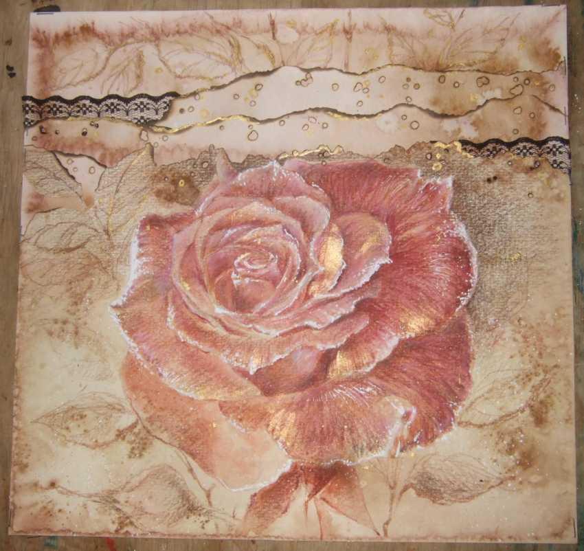 Natasha Mishareva. The pink rose. 2019. Handmade. The Author - Natalia Pisareva - photo 3