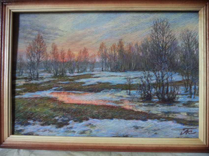 Hanna Kutsenko. Early spring - photo 1