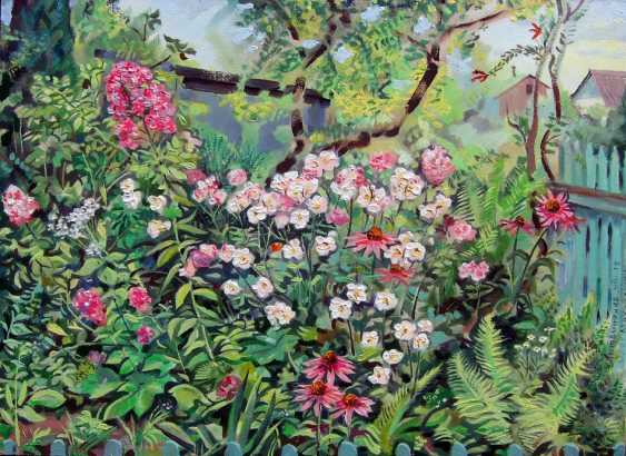 Oleg Lytvynenko. Corner of the garden. - photo 1