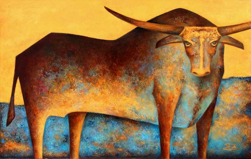 Rafail Aliyev. The bull and the river - photo 1