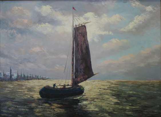 "ВЛУЭ V. (V. VLOET) ""Fischerboote"" - Foto 1"