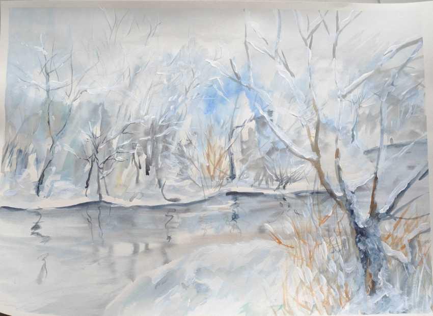 Tetiana Klymenko. Winter on the river - photo 1