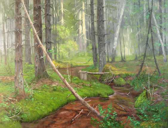 Alexander Bezrodnykh. Stream in the forest - photo 1