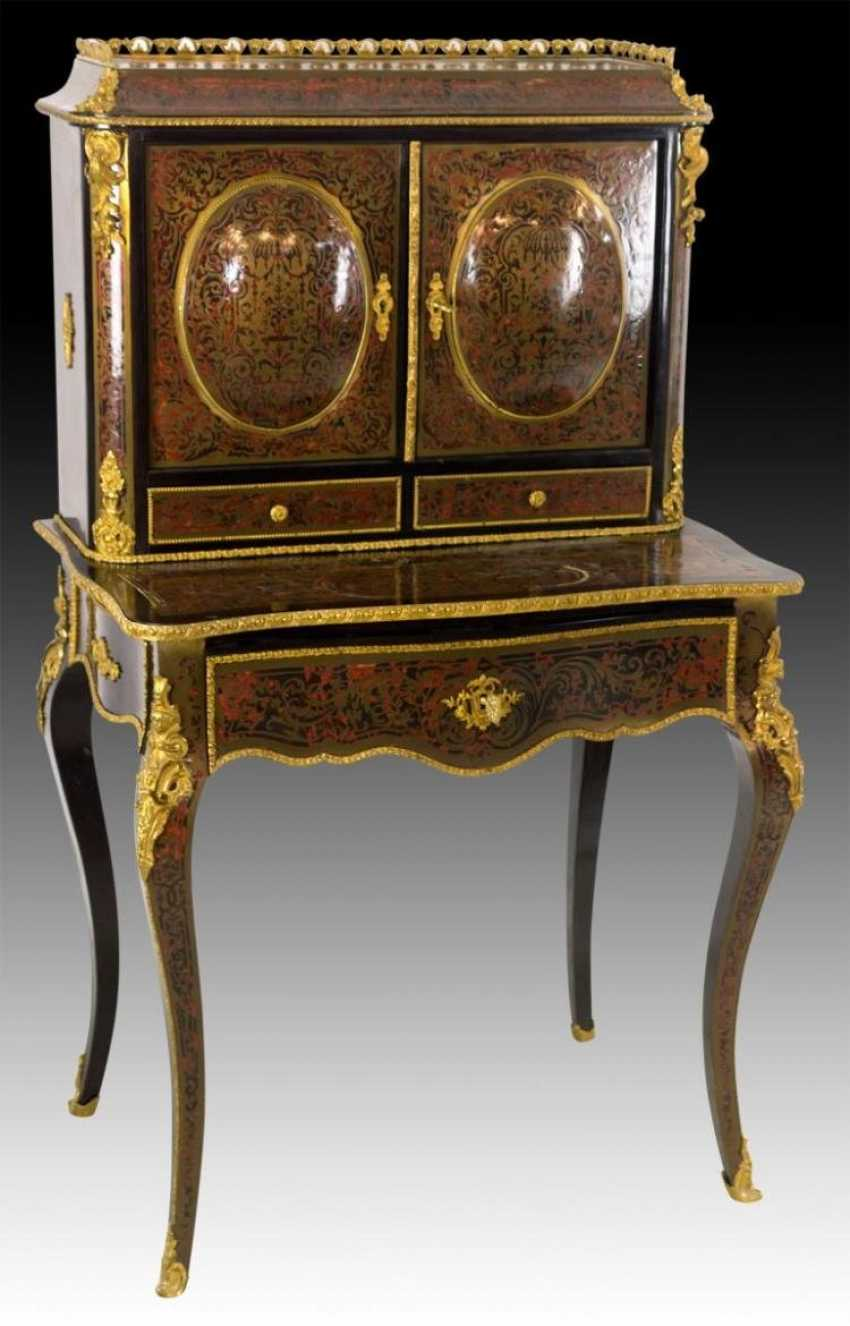 The secretaire is in the style of Boule - photo 1