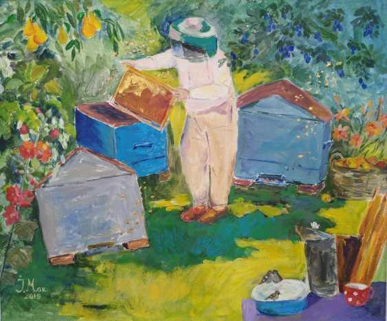 Irina Makovetskaya. Hot day in the apiary - photo 1