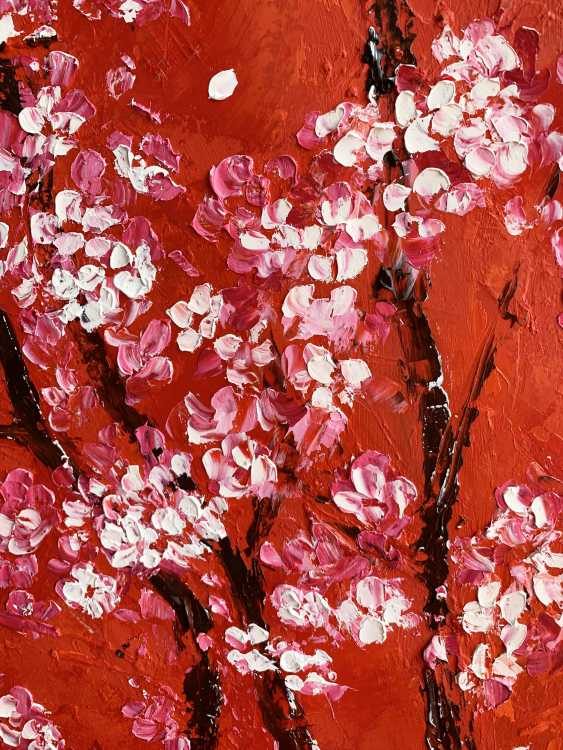 Elena Ivaniuk. Flowering plum - photo 2