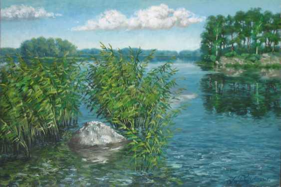 Alexander Bezrodnykh. Sunny on the lake - photo 1